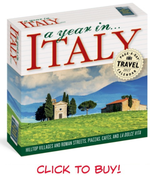 Monthly And Wall And Page A Day Desk Calendars Of Italy 2017