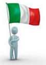 Italian flag: warning!