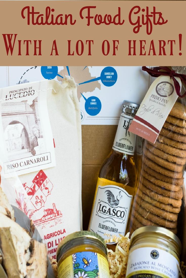 Italian food gifts link.