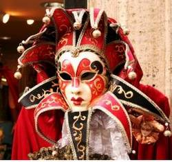 Italian masquerade masks
