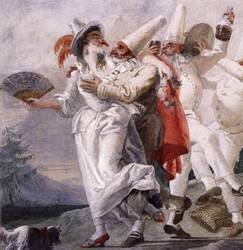 Italian masquerade masks mediaeval