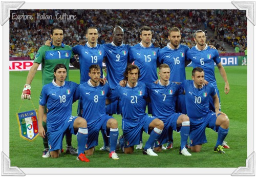 Italian national soccer team 2012