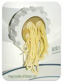 Lello pasta maker click to buy from Amazon
