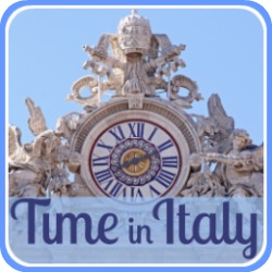 All about the time in Italy - link.