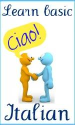 Learn basic Italian clickable link