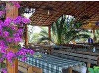 Italy beach restaurant