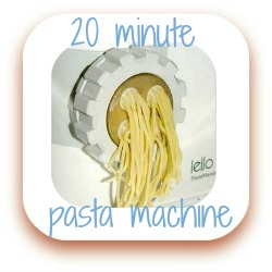 Link to review of Lello's pasta machine