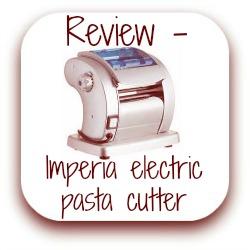 Imperia electric pasta cutter machine review - link