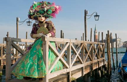 Mardi Gras celebrations in Venice
