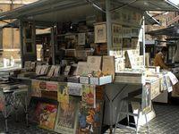 Rome shops market