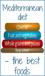 Mediterranean diet - the really good foods.
