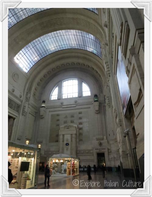 Milan railway station, Italy