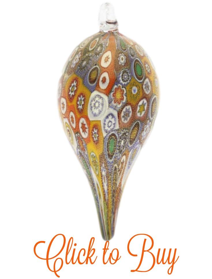 Murano glass christmas ornaments - Murano glass ornaments italy ...