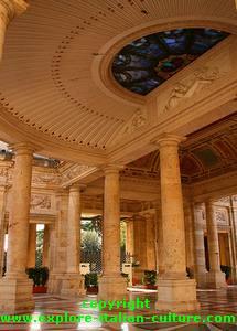 Montecatini spa grand hallway
