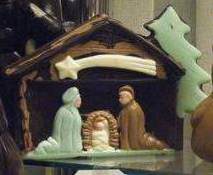 Nativity craft Rome.