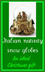 See our rang of Italian snow globes - an ideal Christmas gift!