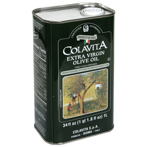 Extra virgin olive oil tin