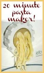 Make pasta in 20 minutes link