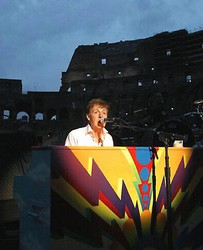 Paul Mccartney rocks Colosseum