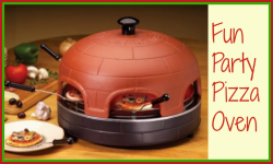 Table top pizza oven gift
