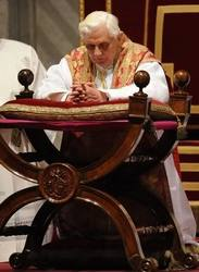 Pope Benedict the 16th