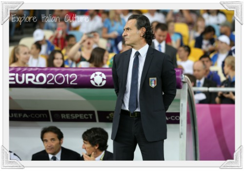 Cesare Prandelli, the Italian national team's coach