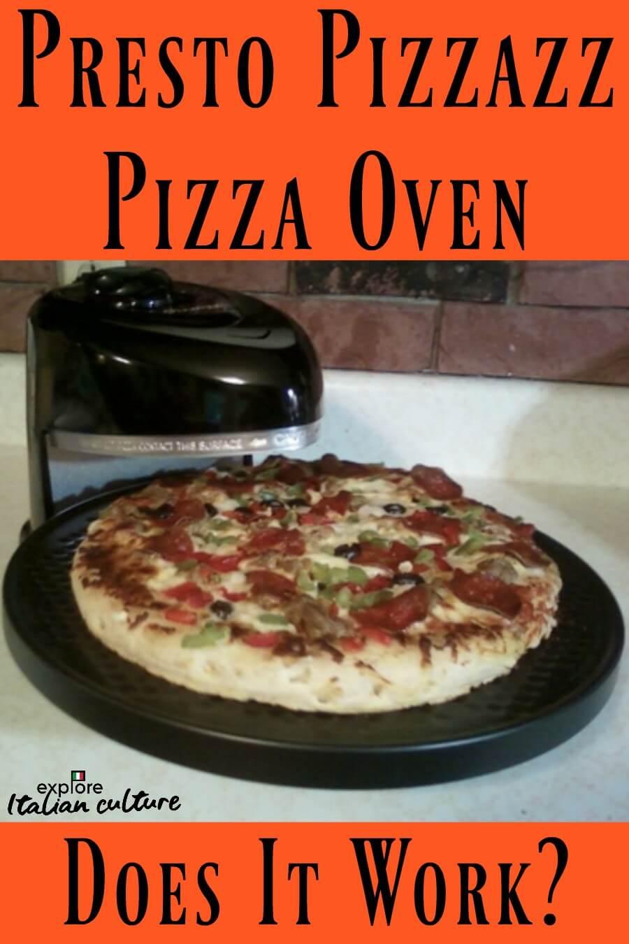 Pin: the Presto Pizzazz Pizza oven.