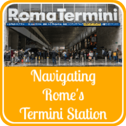 Link to Termini station article - all you need to know about Rome's main railway station.
