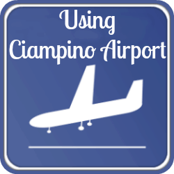 Link to using Ciampino airport, Rome.