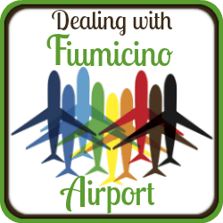 Click here for information about flying into and out of Fiumicino airport, Rome.