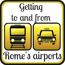 How to travel into Rome centre from the airports - link.