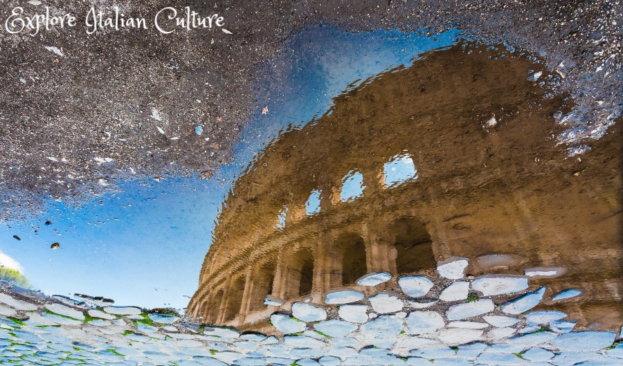 Rome in the rain - there's always scope for a good photo!