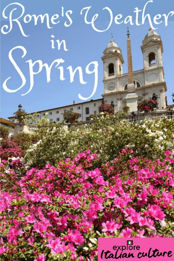 All you need to know about Rome's weather in Spring - link.