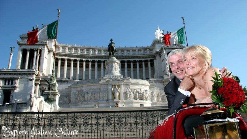 Wedding in Rome.