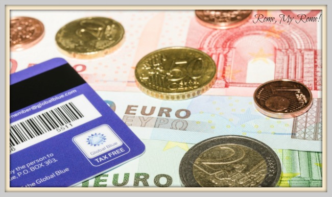 Tax free refunds at Fiumicino airport.
