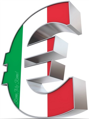 The Euro - Italy's currency.