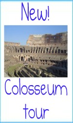 New depths to the Colosseum! A great new tour.