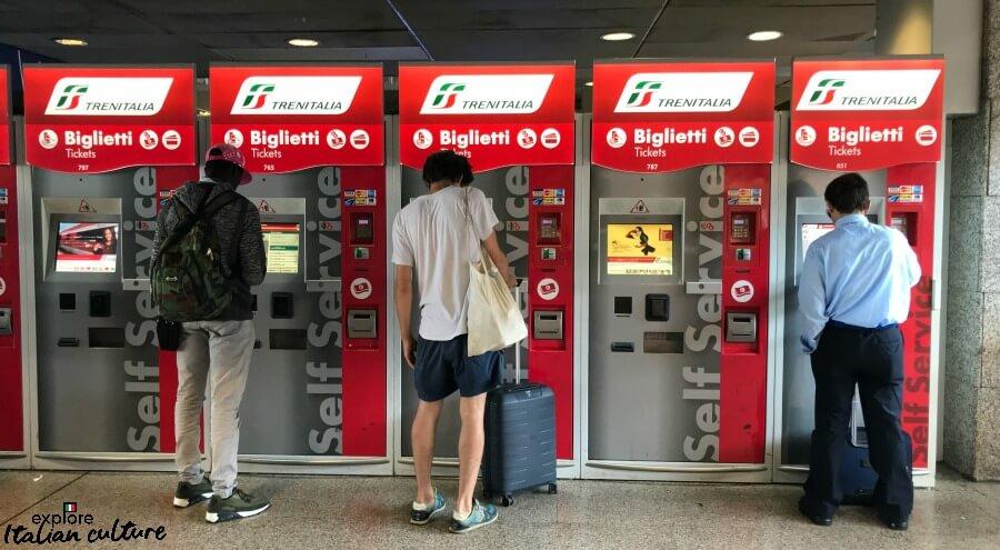 Fast ticket machine