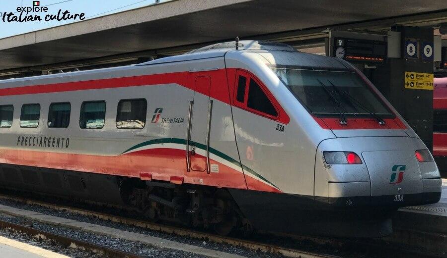 Italian inter city trains
