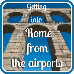 How to get from Rome's airports into the city - link.