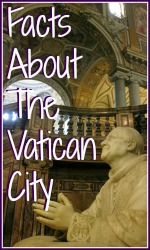 Ten facts about the Vatican City