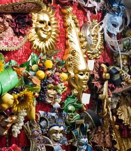 Authentic Venetian masquerade masks