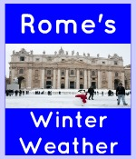 Rome weather in winter clickable link