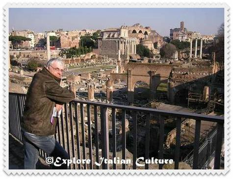 Mike at the Roman Forum, October