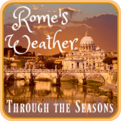 Rome's weather, season by season. Link.