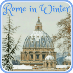 Rome's weather in winter - link.