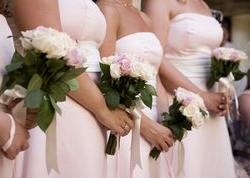 White bridesmaid dresses