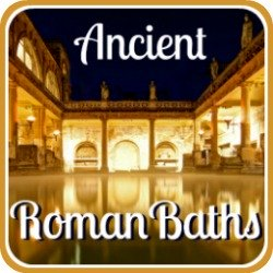 Ancient Roman baths - link.