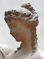 Roman wedding hairstyle