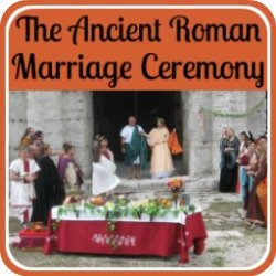 The ancient Roman marriage ceremony - link.